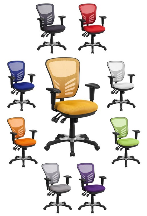 Colorful Mesh Office Chair