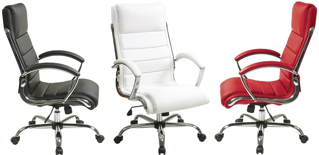 Cream Colored Office Chair