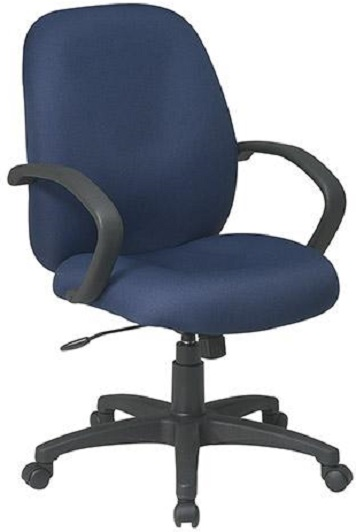 mid back fabric office task chair office chairs blue task chair office task chairs