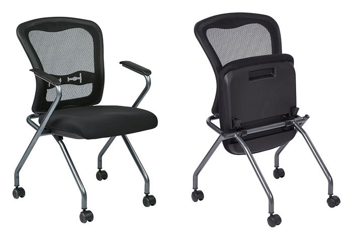 Mesh Back Training Room Or Guest Chairs