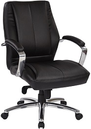 Deluxe Mid Back Conference Chair