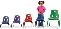 Kids Plastic Stacking Chairs