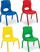 Kids Posture Stack Chairs