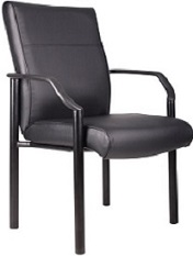 Leather Guest Armchair