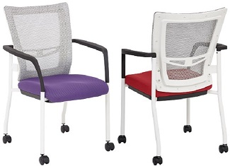 Mesh Training Room Chairs
