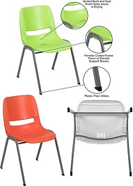 Plastic Multipurpose Stackable Chairs