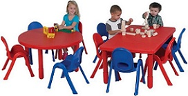 Preschool Table Chair Sets