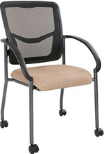 Mesh Back Visitors Training Room Chairs