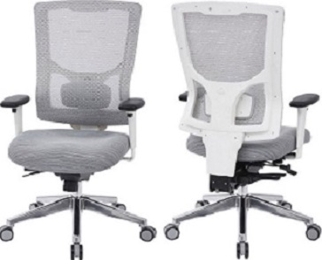 White Mesh High Back Office Chair