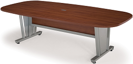 Cherry Melamine Meeting Room Table