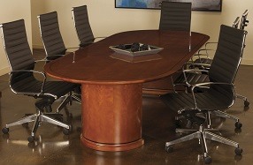 Cherry Oval Meeting Room Table