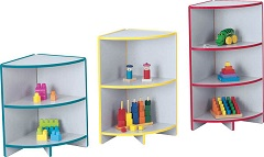 Pediatric Waiting Room Storage Bookcase