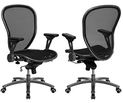 Mesh Mid Back Swivel Office Chair
