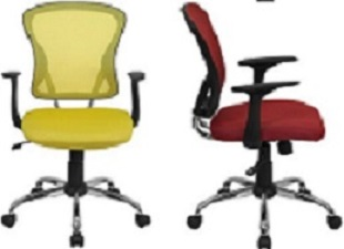 Mid Back Mesh Swivel Chair