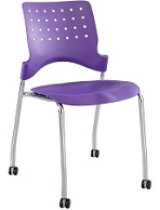 Mobile Stack Chair